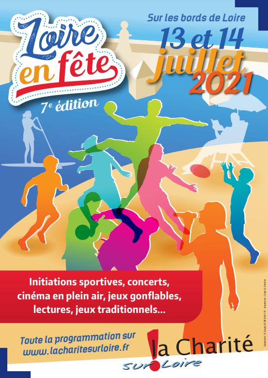 Affiche Fête de Loire